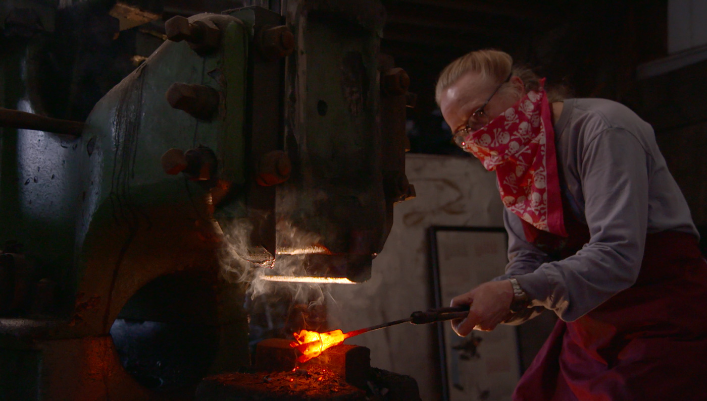 elizabeth brim blacksmithing